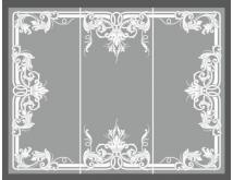 5 Зеркала матированные